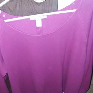Soft fuchsia sweater. NEW LIST!😊